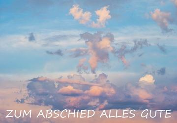 Bild von Ruhestand/Abschied: Zum Abschied Wolken