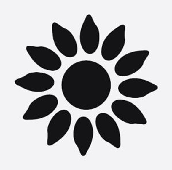 Bild von Motivstanzer gross Sonnenblume