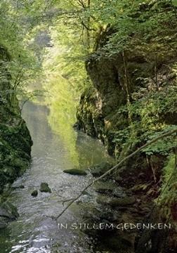 Bild von Trauer: In stillem Gedenken Fluss