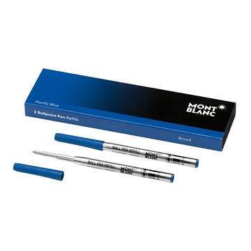 Montblanc Kugelschreiber Refill breit blau