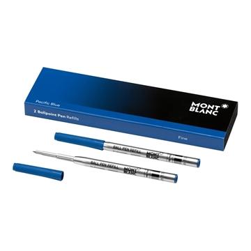 Montblanc Kugelschreiber Refill fein blau