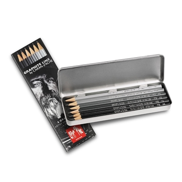 Caran d'Ache Metallschachtel Grafwood