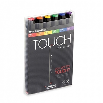 Touch TwinMarker - 6er Set
