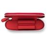 Graf von Faber-Castell Reissverschlussetui für 2 Schreibgerät India Red