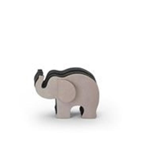 Graf von Faber-Castell Stifteköcher Elefant klein, Nubuk