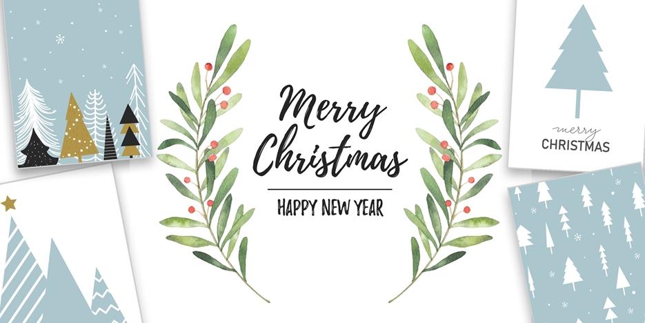 Weihnachts- & Neujahrskarten