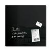 Bild von SIGEL, Glas-Magnetboard artverum, schwarz 48x48cm