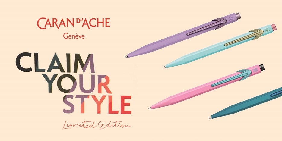Caran d'Ache «Claim your style»